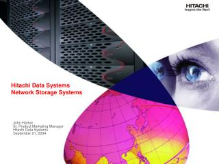 Hitachi Data Systems Network Storage Systems