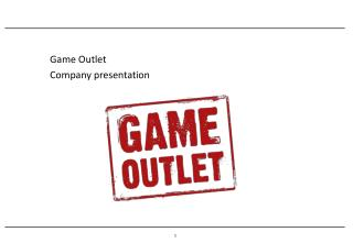 Game Outlet