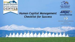 Human Capital Management   Checklist for Success