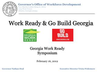 Work Ready & Go Build Georgia
