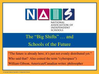 Patrick F. Bassett, NAIS President bassett@nais