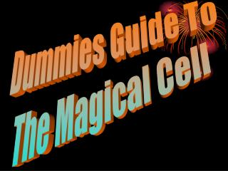 Dummies Guide To The Magical Cell