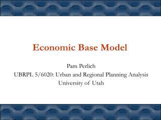 Economic Base Model
