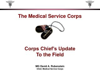 The Medical Service Corps