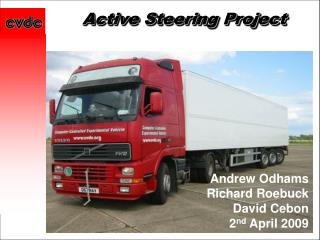 Active Steering Project