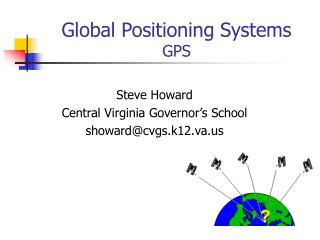 Global Positioning Systems GPS