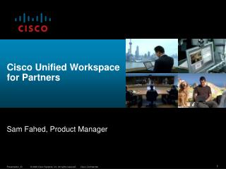 Cisco Unified Workspace for Partners