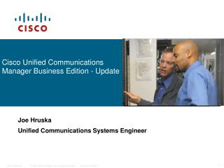 Cisco Unified Communications Manager Business Edition - Update