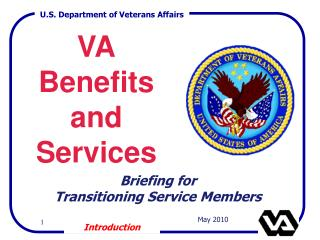 VA Benefits and Services
