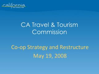 CA Travel & Tourism Commission