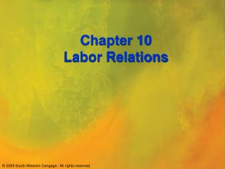 Union-Management Labor Relations