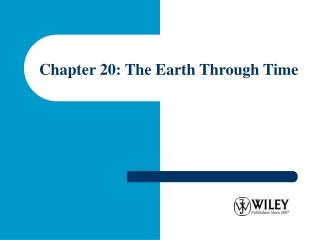 Chapter 20 Shorelines