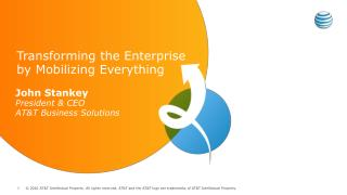 Transforming the Enterprise by Mobilizing Everything