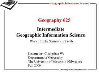 Geography 625