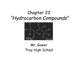 "Chapter 22 ""Hydrocarbon Compounds"""