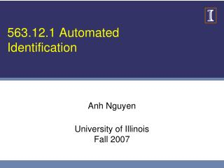 563.12.1 Automated Identification