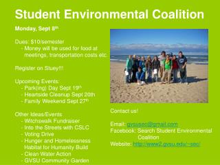 Student Environmental Coalition