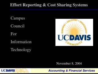 Effort Reporting & Cost Sharing Systems