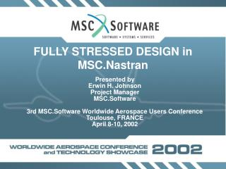 FULLY STRESSED DESIGN in MSC.Nastran
