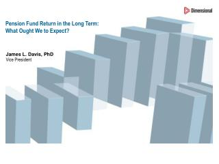 Pension Fund Return in the Long Term: What Ought We to Expect?