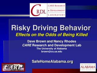 Risky Driving Behavior Effects on the Odds of Being Killed