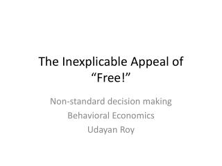 "The Inexplicable Appeal of ""Free!"""