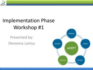 Implementation Phase  Workshop  #1