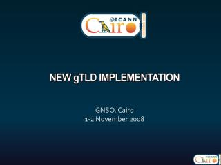 New  g tld  implementation