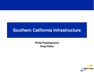 Southern California Infrastructure
