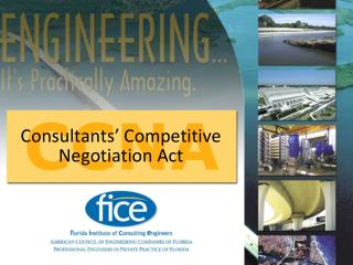 Consultants' Competitive Negotiation Act
