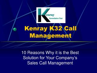 Kenray K32 Call Management