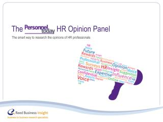 The smart way to research the opinions of HR professionals