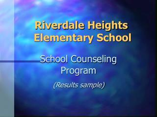 Riverdale Heights  Elementary School