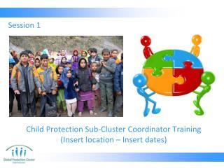 Child Protection Sub-Cluster Coordinator Training (Insert location – Insert dates)