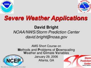 Severe Weather Applications