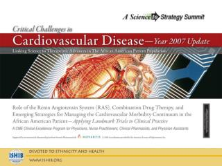 ISHIB 2007 Innovating Vascular Health: Practical Applications to Clinical Practice