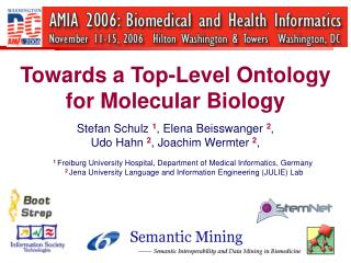 Towards a Top-Level Ontology  for Molecular Biology