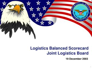 Logistics Balanced Scorecard Joint Logistics Board