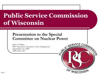 Public Service Commission of Wisconsin