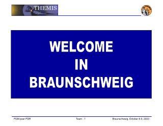 WELCOME IN BRAUNSCHWEIG