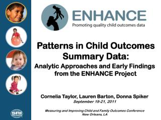 Patterns in Child Outcomes Summary Data: