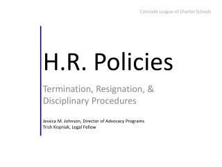 H.R. Policies