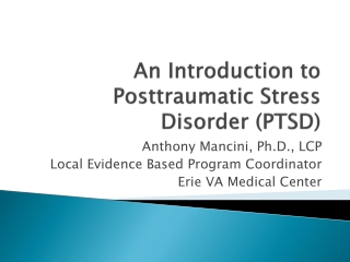 The Impact of Posttraumatic Stress and Traumatic Brain Injury