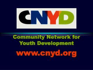 Community Network for Youth Development cnyd