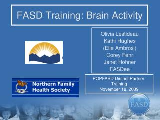 FASD Training: Brain Activity