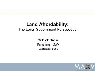 Land Affordability:
