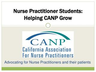 Advocating for Nurse Practitioners and their patients