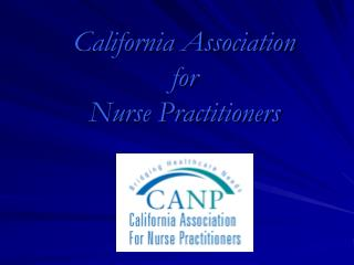 California Association for Nurse Practitioners