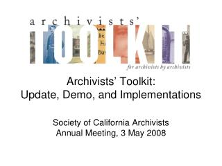 Archivists' Toolkit