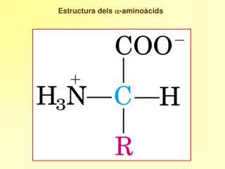 Estructura dels  a -aminoàcids